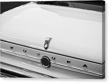 1963 Ford Falcon Futura Convertible  Rear Emblem Canvas Print
