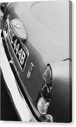 1964 Aston Martin Db5 Coupe' Taillight Canvas Print by Jill Reger