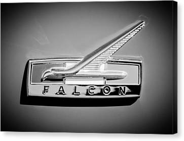 1964 Ford Falcon Emblem Canvas Print - 1964 Ford Falcon Emblem by Jill Reger