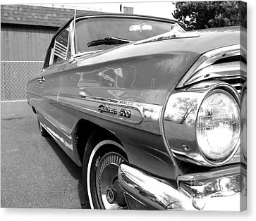 1964 Ford Galaxie 500 Convertible Canvas Print by Doc Braham