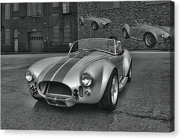 Canvas Print featuring the photograph 1965 Shelby Cobra Replica by Tim McCullough