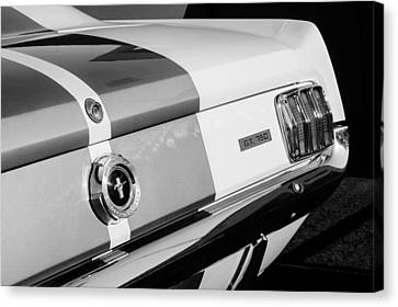 1965 Shelby Mustang Gt350 Taillight Emblem Canvas Print