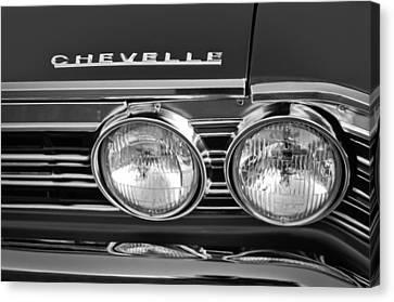 1967 Chevrolet Chevelle Super Sport Emblem Canvas Print