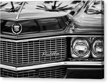 1969 Cadillac Eldorado Grille Canvas Print by Jill Reger