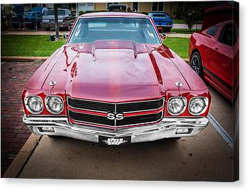 1970 Chevy Chevelle 454 Ss Painted  Canvas Print