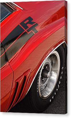 Canvas Print featuring the photograph 1970 Dodge Challenger R/t by Gordon Dean II