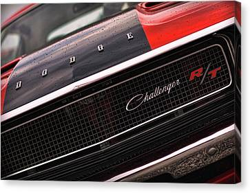 1970 Dodge Challenger Rt Canvas Print by Gordon Dean II