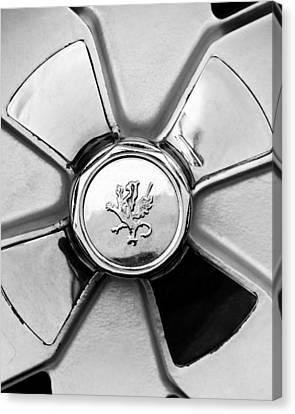 1971 Iso Fidia Wheel Emblem Canvas Print by Jill Reger