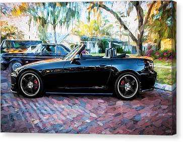 Highspeed Canvas Print - 2004 Honda S2000 Roadster Painted  by Rich Franco