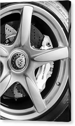 2005 Porsche Carrera Gt Emblem Canvas Print by Jill Reger