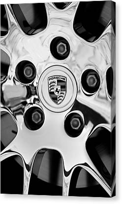 2010 Porsche Panamera Turbo Wheel Canvas Print