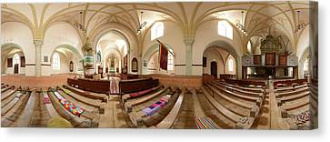 Romania Canvas Print - 360 Degree Interior View by Panoramic Images