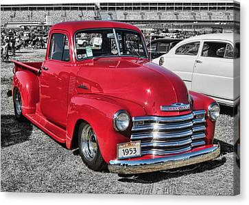 '53 Chevy Truck Canvas Print