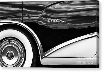 56 Buick Style Canvas Print by Tim Gainey