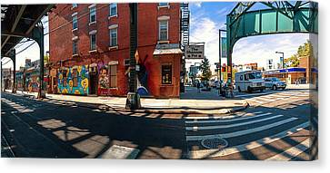 5pointz Aerosol Art Center, Long Island Canvas Print by Panoramic Images