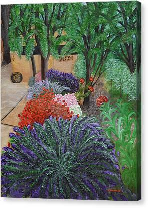 A Garden To Remember Canvas Print