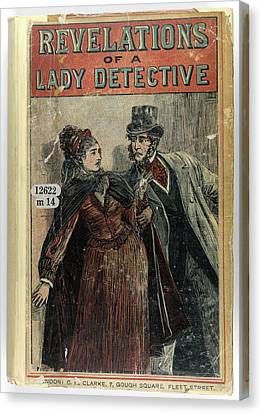 A Lady Detective Canvas Print by British Library