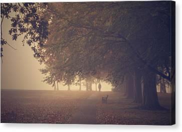 A Misty Morning Canvas Print by Chris Fletcher