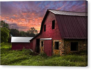 A New Start Canvas Print by Debra and Dave Vanderlaan