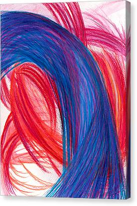 A Passionate Intuition Canvas Print