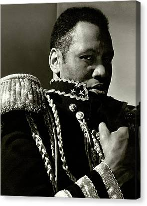 1933 Canvas Print - A Portrait Of Paul Robeson by Edward Steichen