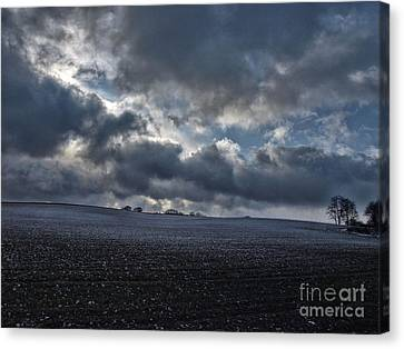 A Touch Of Snow Canvas Print by Brothers Beerens
