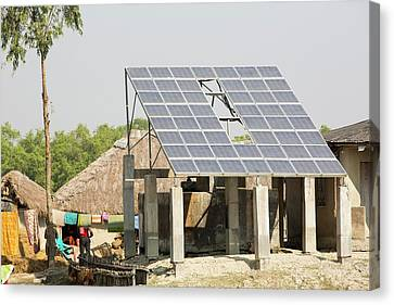 A Wwf Project To Supply Electricity Canvas Print