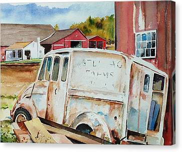 Forgotten Delivery  Canvas Print by Scott Nelson