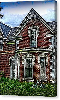 Abandoned House Canvas Print by Douglas Pike