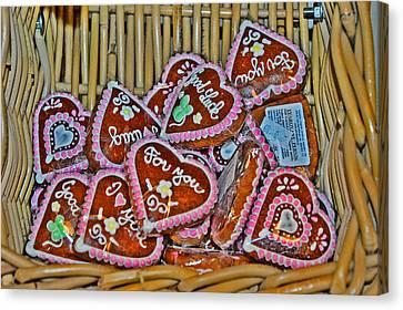 About Love. The Honey Cake. Next To Charles Bridge. Prague. Czech Republic. Czech Republic. Canvas Print by Andy Za