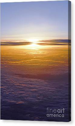 Above The Clouds Canvas Print by Elena Elisseeva