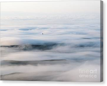 Mist Canvas Print - Above The Clouds by Mike  Dawson