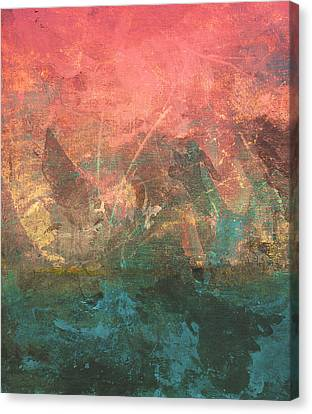 Abstract Print 2 Canvas Print by Filippo B