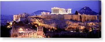 Acropolis, Athens, Greece Canvas Print