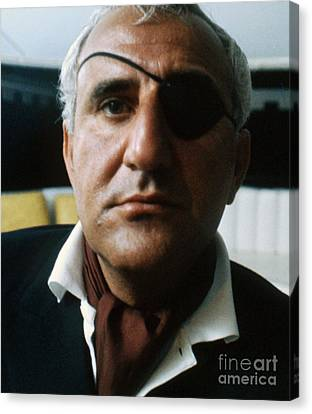 Adolfo Celi As Emilio Largo In Thunderball Canvas Print by The Harrington Collection