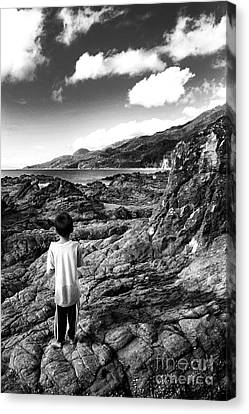 Adventure Awaits Canvas Print by Roy Cruz