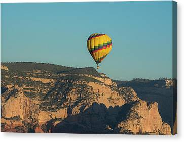 Aerial View, Red Rock Country, Sedona Canvas Print