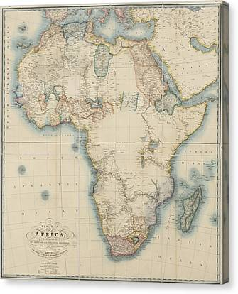 Africa Canvas Print by British Library
