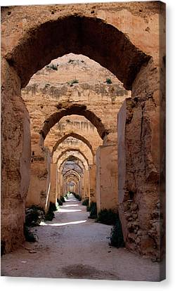 Africa, Morocco, Meknes Canvas Print
