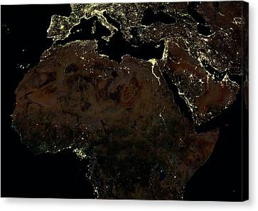 Africa Canvas Print by Planetobserver