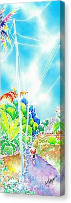After The Squall Canvas Print by Hisayo Ohta