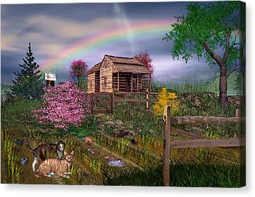 After The Storm Canvas Print by Mary Almond