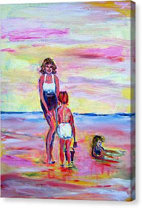 Patricia Taylor Canvas Print - Afternoon Tide by Patricia Taylor