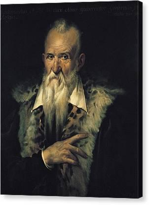 Old Man With Beard Canvas Print - Alba, Fernando Alvarez De Toledo Y by Everett
