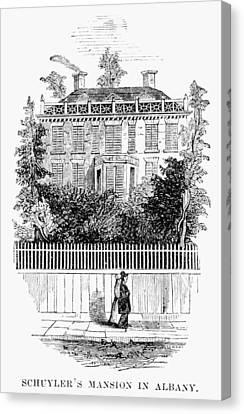 Albany Schuyler Mansion Canvas Print