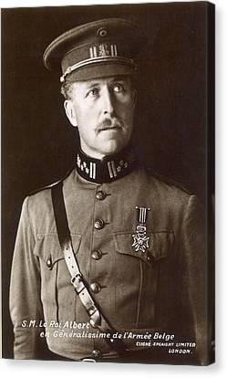Albert I (1875-1934) Canvas Print by Granger
