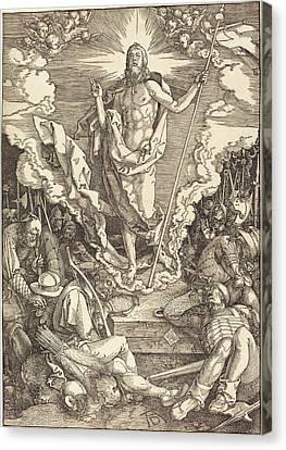 Albrecht Dürer German, 1471 - 1528, The Resurrection Canvas Print