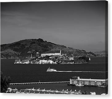 Alcatraz Island Canvas Print by Mountain Dreams