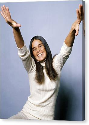 Ali Macgraw In Love Story  Canvas Print by Silver Screen