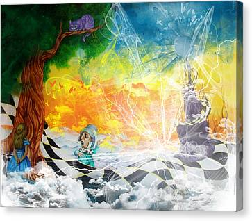 Alice In Wonderland Canvas Print by Ben Christianson